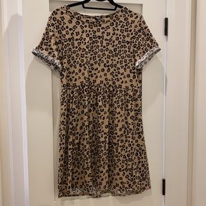 Target Leopard Print Dress size M